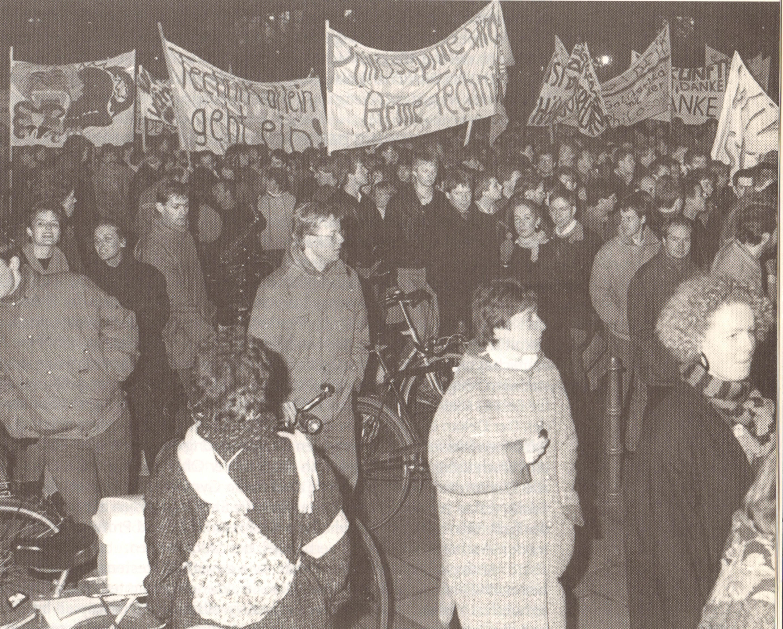 Ga 1995.3 Studentenproteste