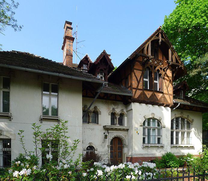 1.V. Villa in Berlin-Grunewald erbaut vom Architekten Eugen Confeld von Felbert